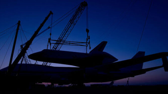 Ostatni lot wahadłowca Enterprise