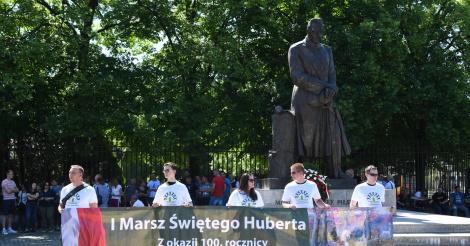 Marsz Świętego Huberta z okazji odzyskania niepodległości
