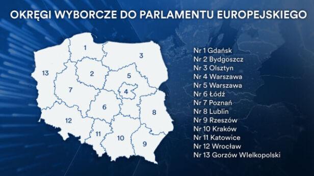 Okręgi wyborcze do Parlamentu Europejskiego
