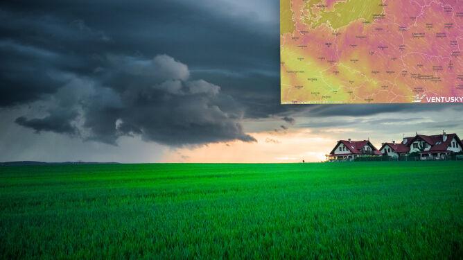 Pogoda na 5 dni: ryzyko pojawiania się trąb powietrznych. I to przez kilka dni