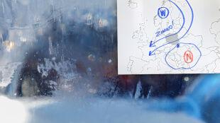Polska na trasie mroźnego powietrza