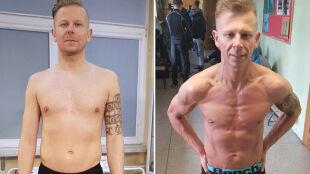 Schudł 5 kg, nabrał mięśni, zaczął szybciej biegać. Metamorfoza 30-letniego bankiera
