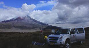Wulkan Cotopaxi zachowuje się jak wielki instrument